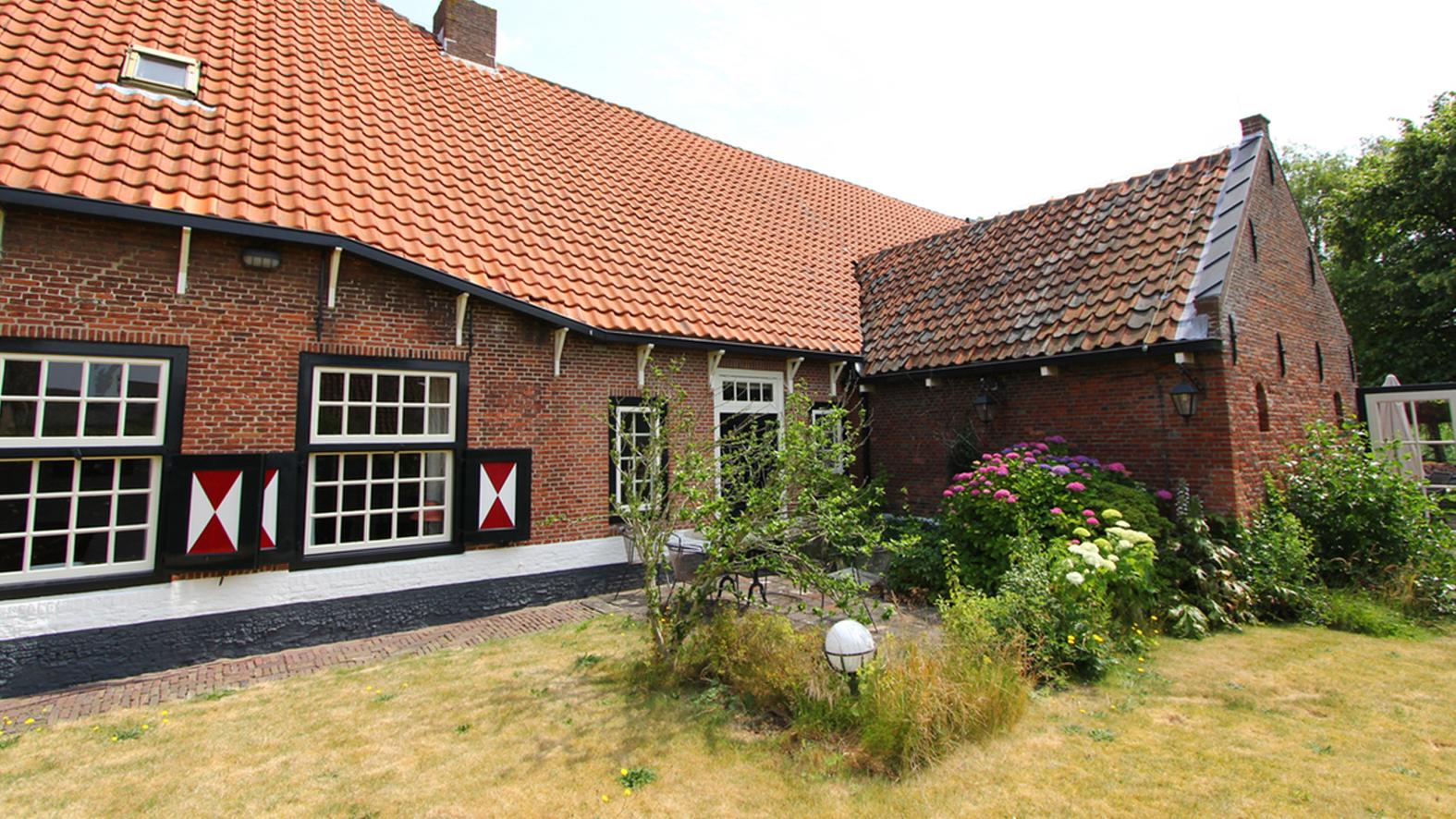 Rijksmonumentale boerderij in Warmond